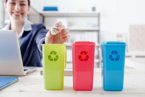 Le tri des déchets au bureau