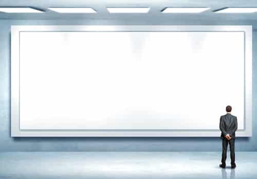 L'affichage numérique explose en 2012