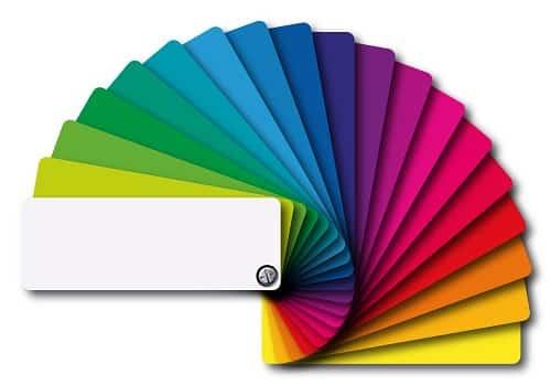 Le choix des couleurs pour sa charte graphique