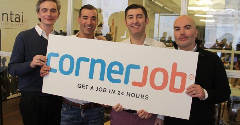 Recrutement mobile : Cornerjob lève 19 millions de dollars