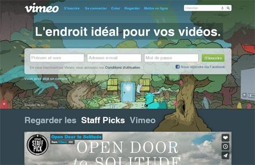 Connaissez-vous Vimeo ? Une plateforme de visionnage vidéo qui monte...