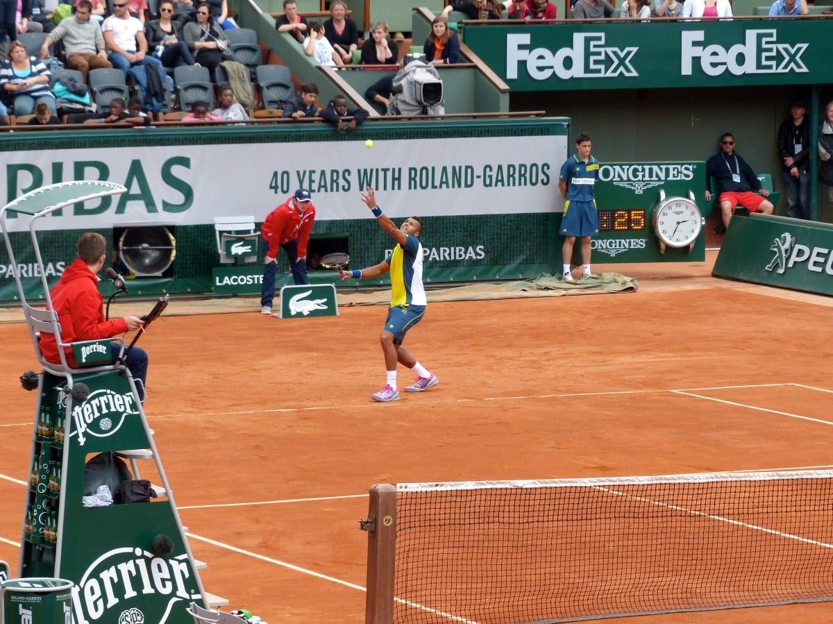 Les Tournois de Roland Garros et le regarder au travail ?