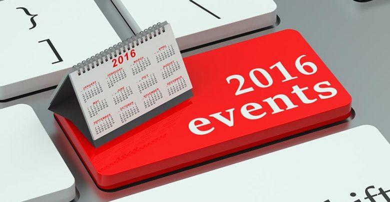 Les événements de 2016 qui peuvent fournir des opportunités de création d'entreprise