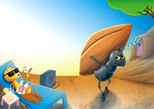 9 raisons pour préférer être fourmi que cigale pour plus de bonheur et de sérénité