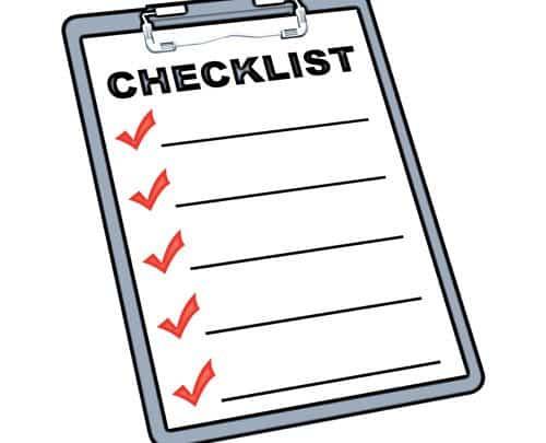 La checklist des 21 excellentes résolutions à adopter pour 2018