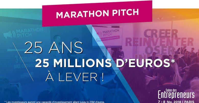 Marathon Pitch du Salon des Entrepreneurs de Paris