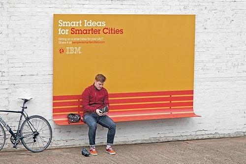 Campagne IBM : imaginer la ville de demain