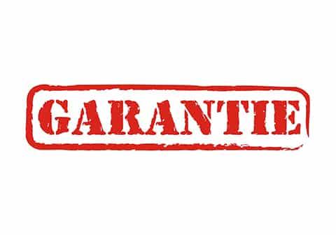 La garantie après livraison