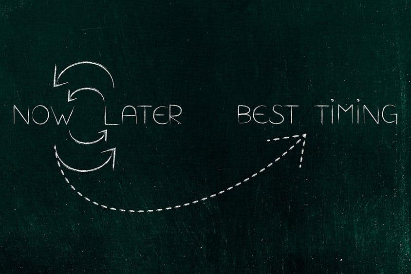 Choisir le bon timing