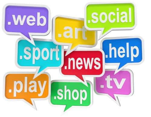 Les nouvelles extensions pour les sites internet