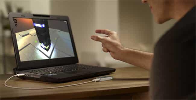 La technologie tactile déjà dépassée ? Leap Motion ?