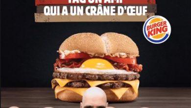 Burger King lance un burger gratuit pour les chauves