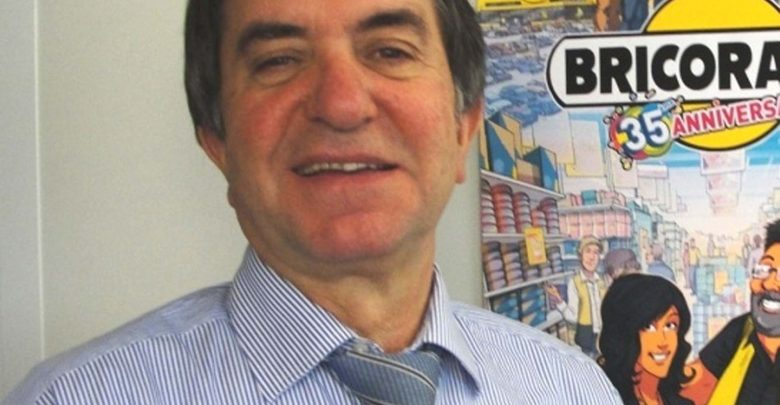 Jean-Claude Bourrelier Fondateur du groupe Bricorama