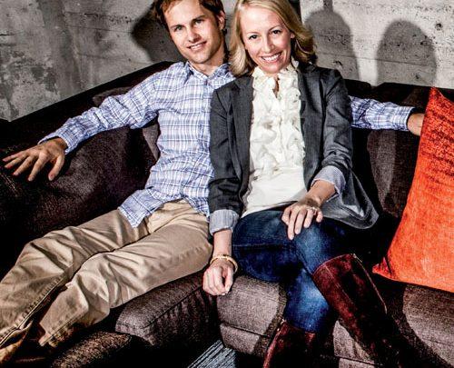 Kevin et Julia Hartz Cofondateurs d'Eventbrite