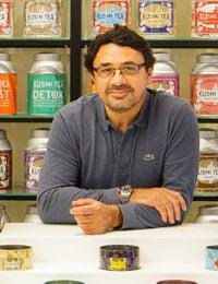Sylvain Orebi PDG de Kusmi Tea