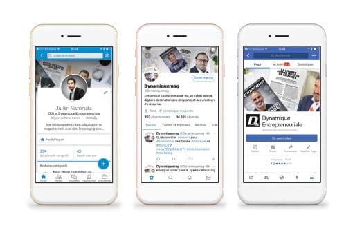 L'éventail des réseaux sociaux