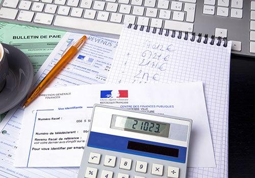 Les taxes sur l'E.B.E