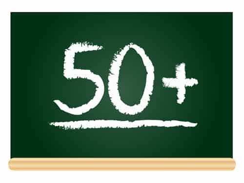 Entreprendre à cinquante ans !
