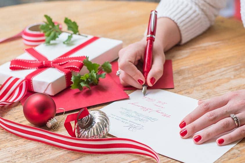 Comment rédiger une carte de vœux ?