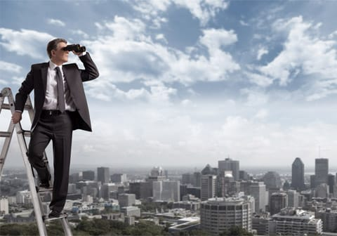 De la vision à la stratégie d'entreprise et à l'objectif