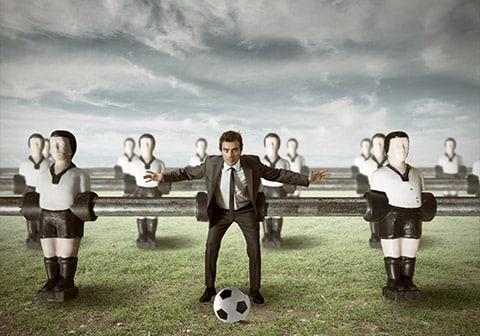 La travail en équipe : chemin vers la ligue 1 ou retour au vestiaire ?