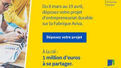 Photo of Aviva France offre 1 million d'euros pour 40 entrepreneurs