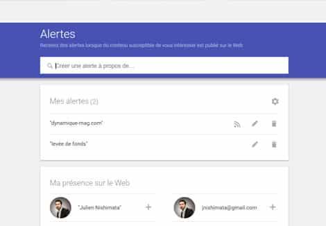 Comment faire pour créer une veille gratuitement grâce à Google Alertes