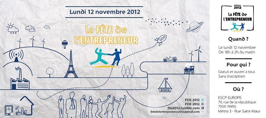 Fête de l'Entrepreneur : c'est aujourd'hui !