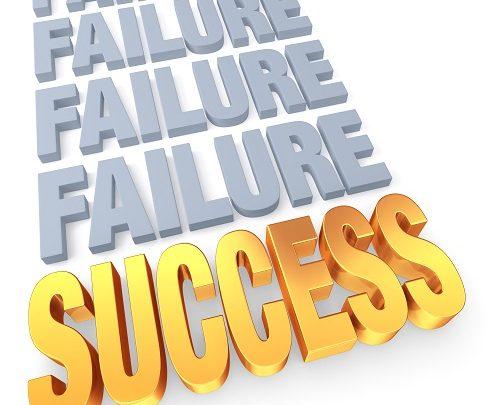 Osons considérer nos échecs comme des pépites