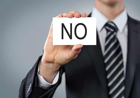 Il faut savoir dire « non »