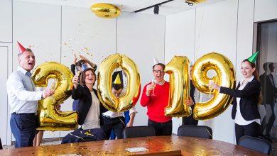 Fêter la nouvelle année avec ses salariés