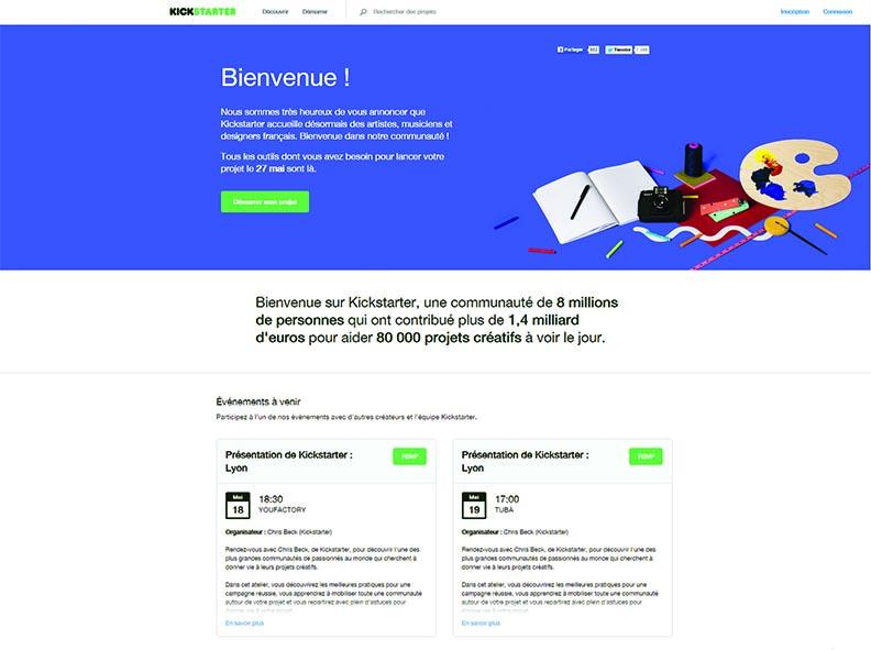 Kickstarter débarque en France : tout savoir pour y lancer un projet à financer