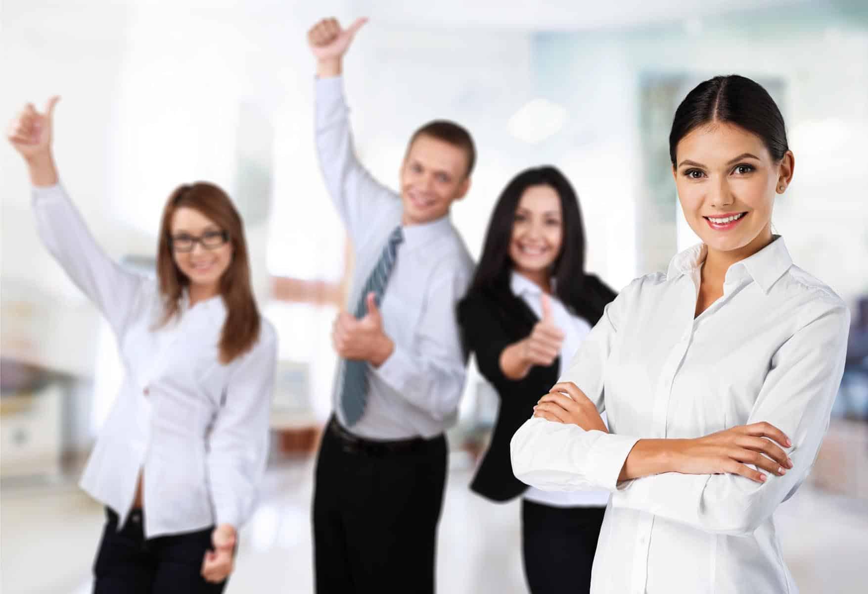 Les salariés heureux au travail