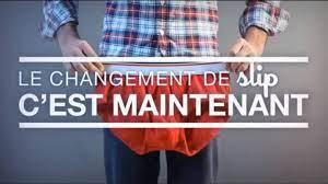 Une campagne de pub décalée pour le Slip français
